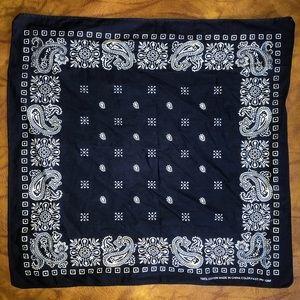 💥 awesome dark blue boho bandanna 💥
